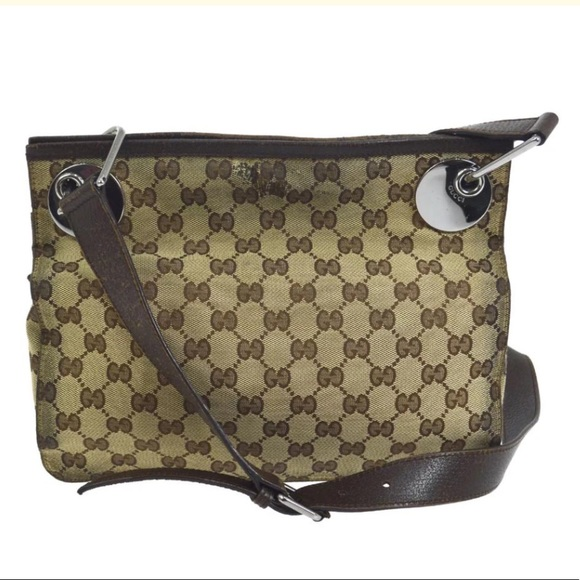 50a9fb70c6 Gucci Handbags - Authentic GUCCI monogram crossbody  Shoulder bag